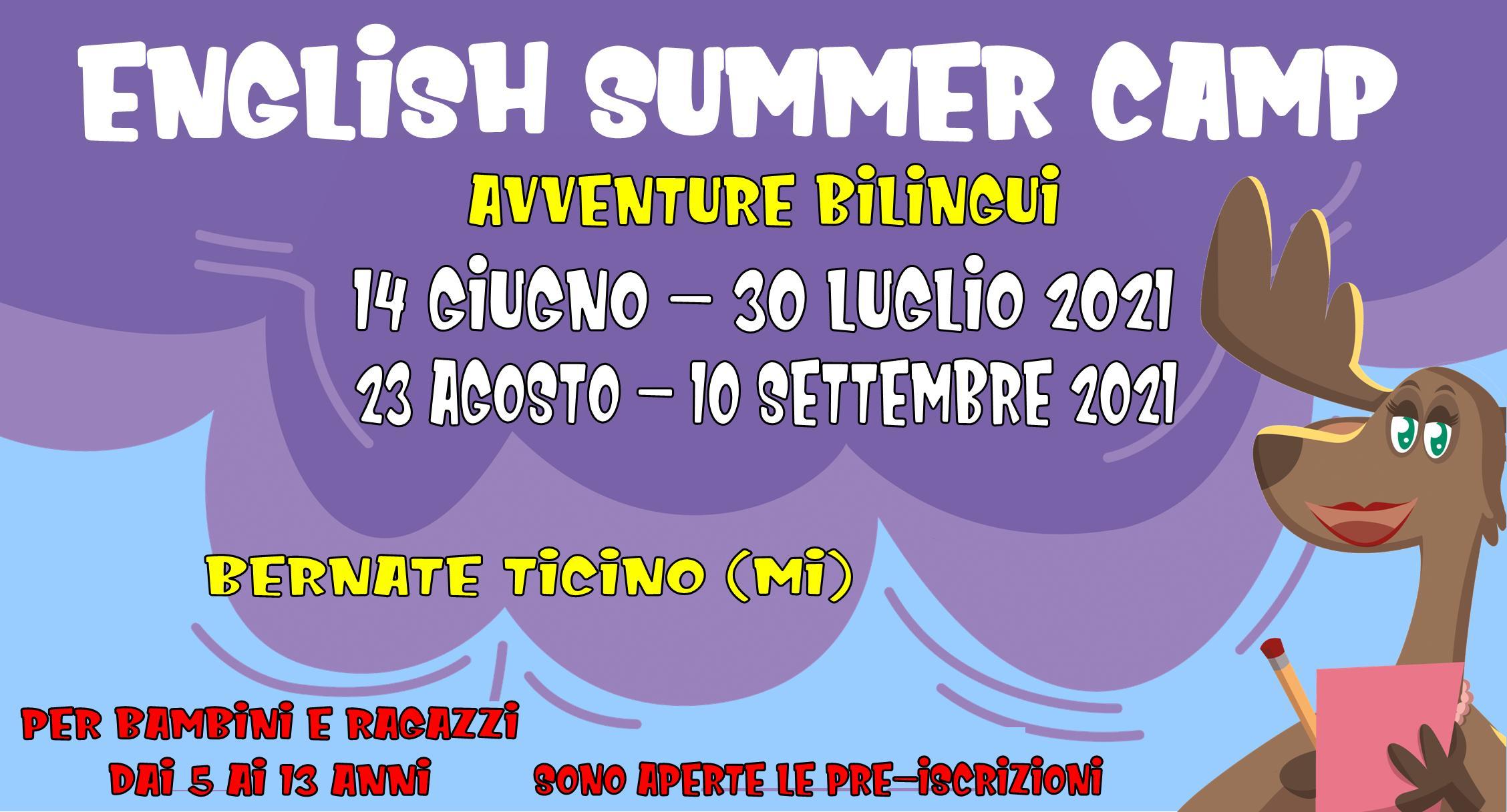 Mini locandina English Summer Camp